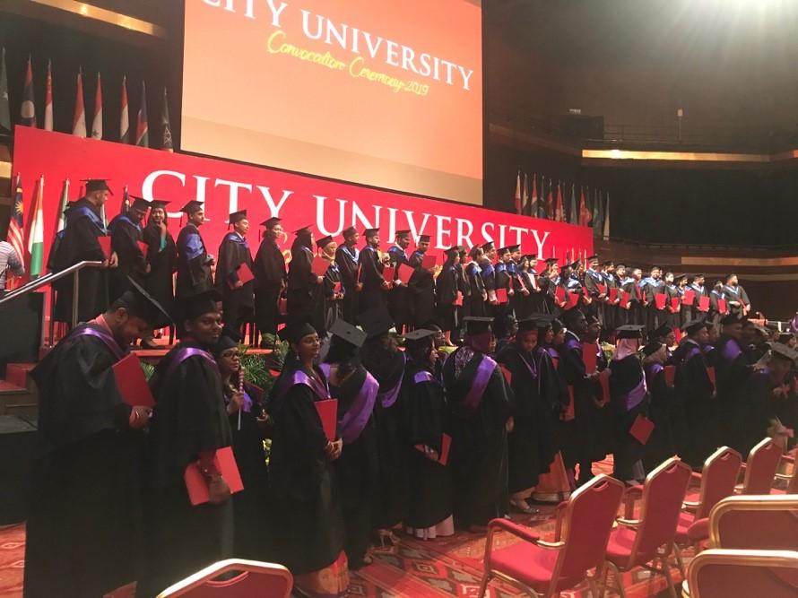 CITY University Convocation 2020